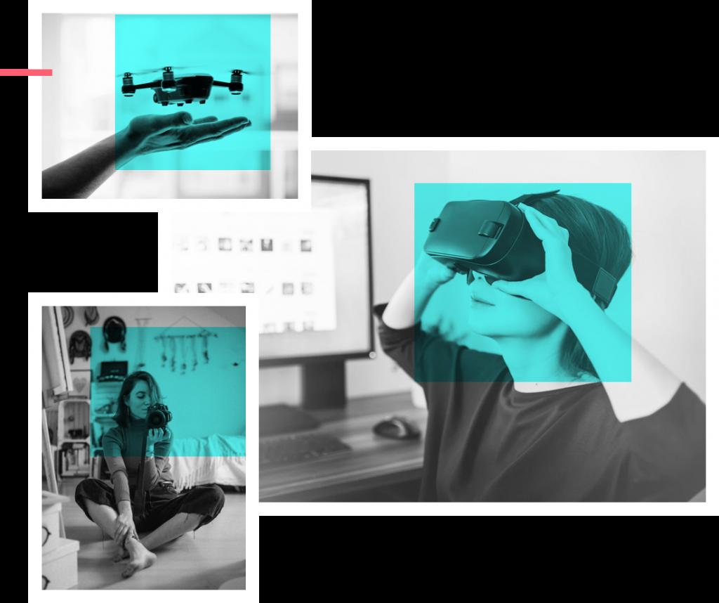 Cursos de fotografía, robótica y audiovisuales en Usera